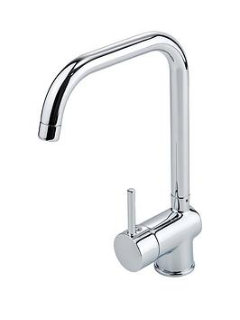 eisl-easy-fit-top-fix-single-lever-kitchen-mixer-tap-with-square-spout