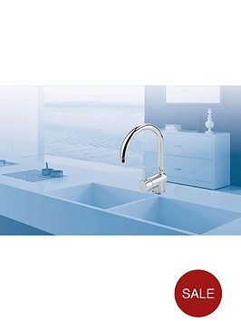 eisl-single-lever-kitchen-mixer-tap-with-swan-neck-spout