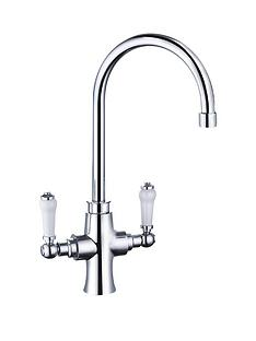 eisl-kitchen-mixer-tap-with-victorian-lever-handles