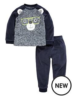 mini-v-by-very-boys-fluffy-front-bear-twosienbsppyjamas-set