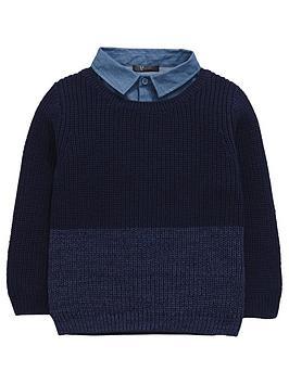 mini-v-by-very-boys-mock-layer-shirt-jumper