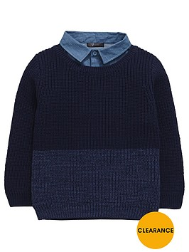 mini-v-by-very-boys-mock-layer-shirt-jumper