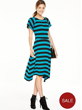 v-by-very-block-stripe-midi-dress