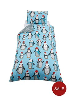 winter-penguin-single-duvet-cover-set