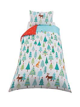 winternbsptrees-single-duvet-cover-set