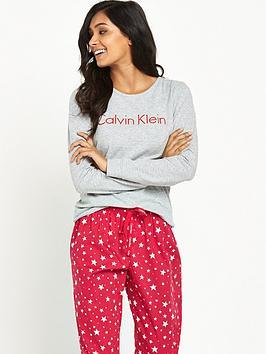 calvin-klein-calvin-klein-star-print-holiday-pyjama-gift-set
