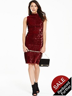 v-by-very-sequin-bodyconnbspdress-with-high-neckline