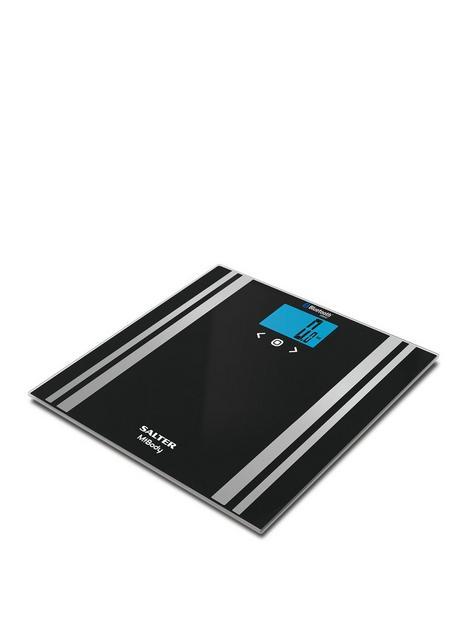 salter-black-mibody-analyser-bathroom-scale