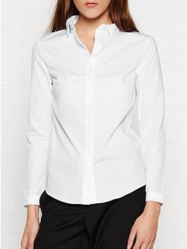 calvin-klein-walida-shirt-white
