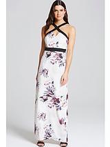 Cross Strap Maxi Dress