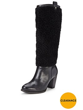 ugg-avanbspexposed-fur-knee-boot-black