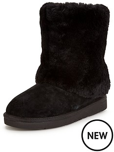 ugg-australia-ugg-pattern-exposed-fur-calf-boot