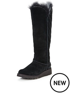 ugg-australia-ugg-rosalind-exposed-fur-knee-boot
