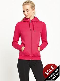 puma-essentials-zipnbsphooded-top-pink