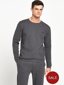 hugo-boss-quilted-crew-loungetop