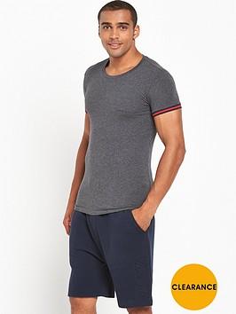 emporio-armani-cuffed-t-shirt