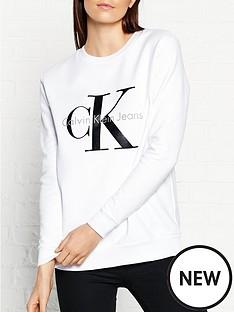calvin-klein-crew-neck-logo-sweatshirt-white