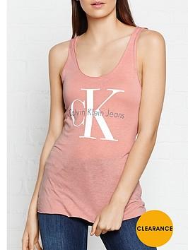 calvin-klein-re-issue-logo-tank-top-peach