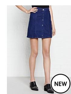 calvin-klein-a-line-denim-skirt