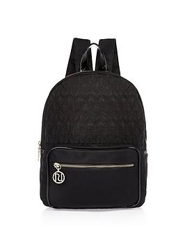 river-island-girls-quilted-backpack