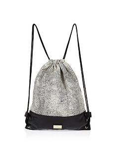 river-island-girls-animal-print-drawstring-bag