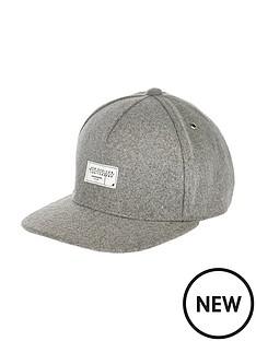 river-island-grey-cap