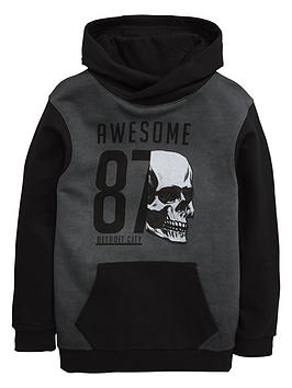 v-by-very-boys-acid-wash-skull-hoodie