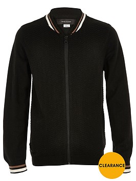 river-island-boys-black-knit-block-bomber-jacket