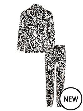 river-island-girls-leopard-print-pyjama-set