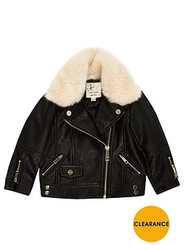 river-island-mini-girls-faux-fur-lined-biker-jacket
