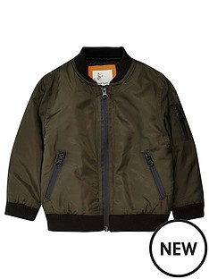 river-island-mini-mini-boys-khaki-bomber-jacket