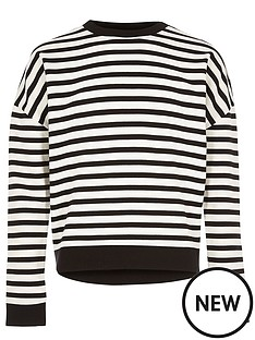 river-island-girls-stripe-slouchy-top
