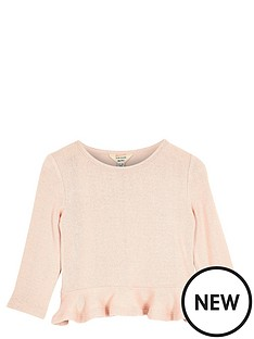 river-island-mini-girls-pink-peplumnbsptop