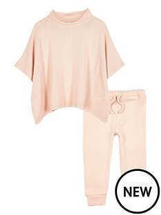 river-island-mini-mini-girls-pink-cosy-poncho-outfit