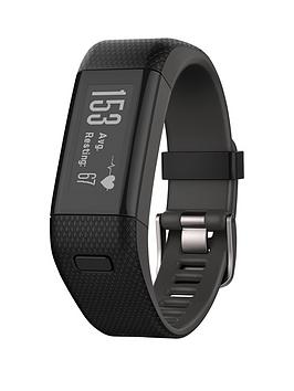 Garmin Vivosmart Hr (Whrm) Activity Tracker  Black Extra Large