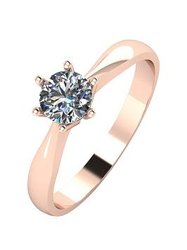 moissanite-9ct-rose-gold-50pt-solitaire-moissanite-ring