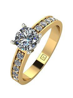 moissanite-9ct-gold-1-carat-round-brilliant-solitaire-ring-with-stone-set-shoulders