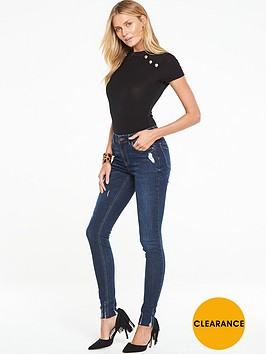 v-by-very-button-detail-ribbed-bodysuit