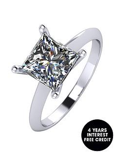 moissanite-platinum-2-carat-princess-cut-solitaire-ring