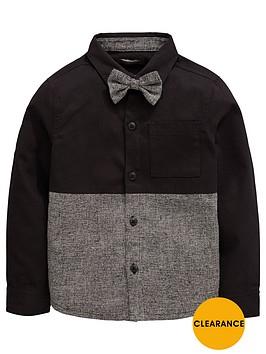 mini-v-by-very-boys-shirt-with-bow-tie