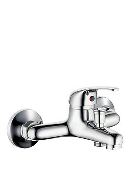 Schutte Athos Plus Bath Mixer Tap With Lever Handle