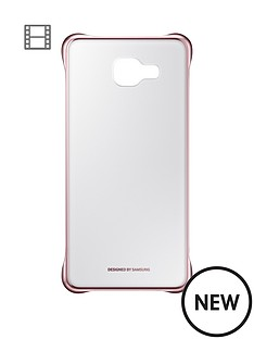 samsung-a5-clear-cover-pink-gold