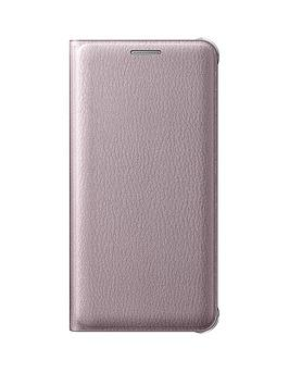 samsung-samsung-a3-flip-wallet-cover-pink-gold