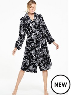 v-by-very-printed-mono-butterfly-robe