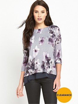 phase-eight-fraya-floral-double-layer-top