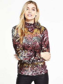 v-by-very-long-sleeve-bow-ombre-sequin-top