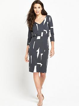 phase-eight-costa-rica-34-sleeve-dress
