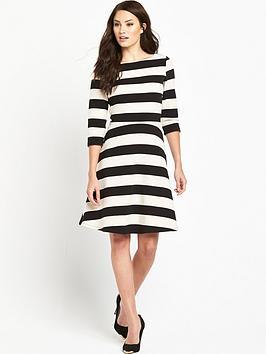 phase-eight-stripe-ottoman-dress