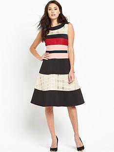 phase-eight-phase-eight-rosina-stripe-flare-dress