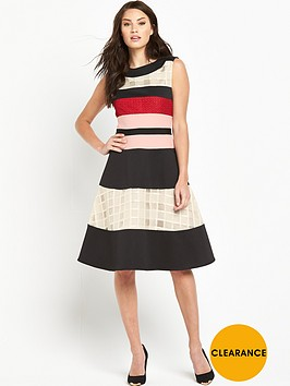 phase-eight-rosina-stripe-flare-dress